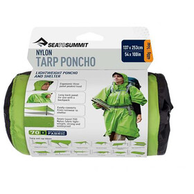 Sea to Summit 70D Tarp Poncho green
